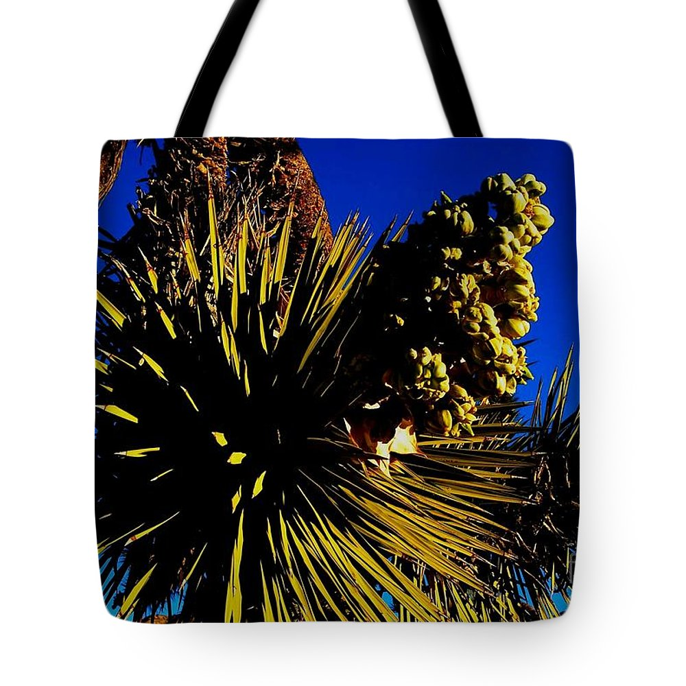 Desert Sun Tote Bag featuring the photograph Hot 2014 by Angela J Wright