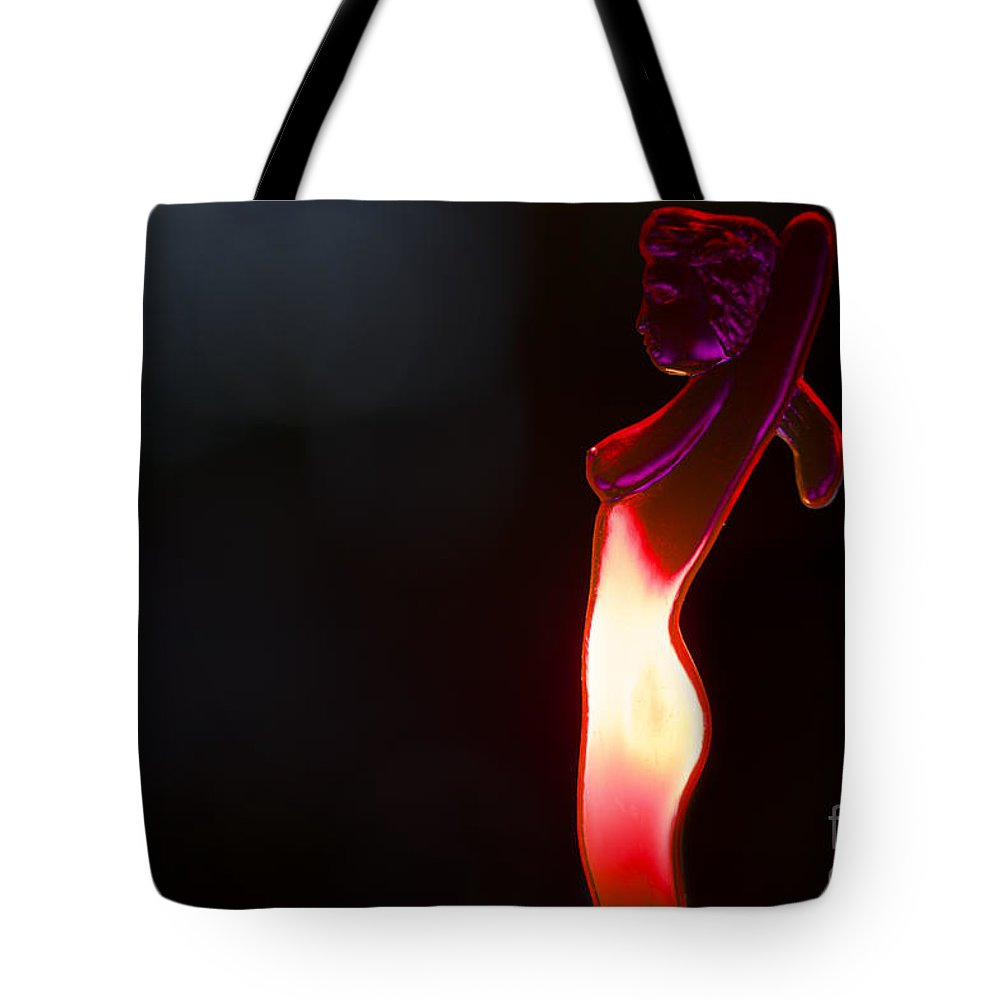 Hot Girl Tote Bag featuring the photograph Hot Girl by Mats Silvan