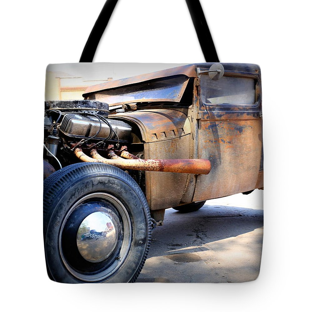 Hot Rod Tote Bag featuring the photograph Hot Rod by Lynn Sprowl