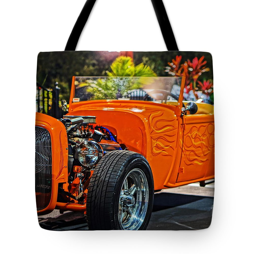 Tote Bag featuring the photograph Hot Rod by Ronald Chacon