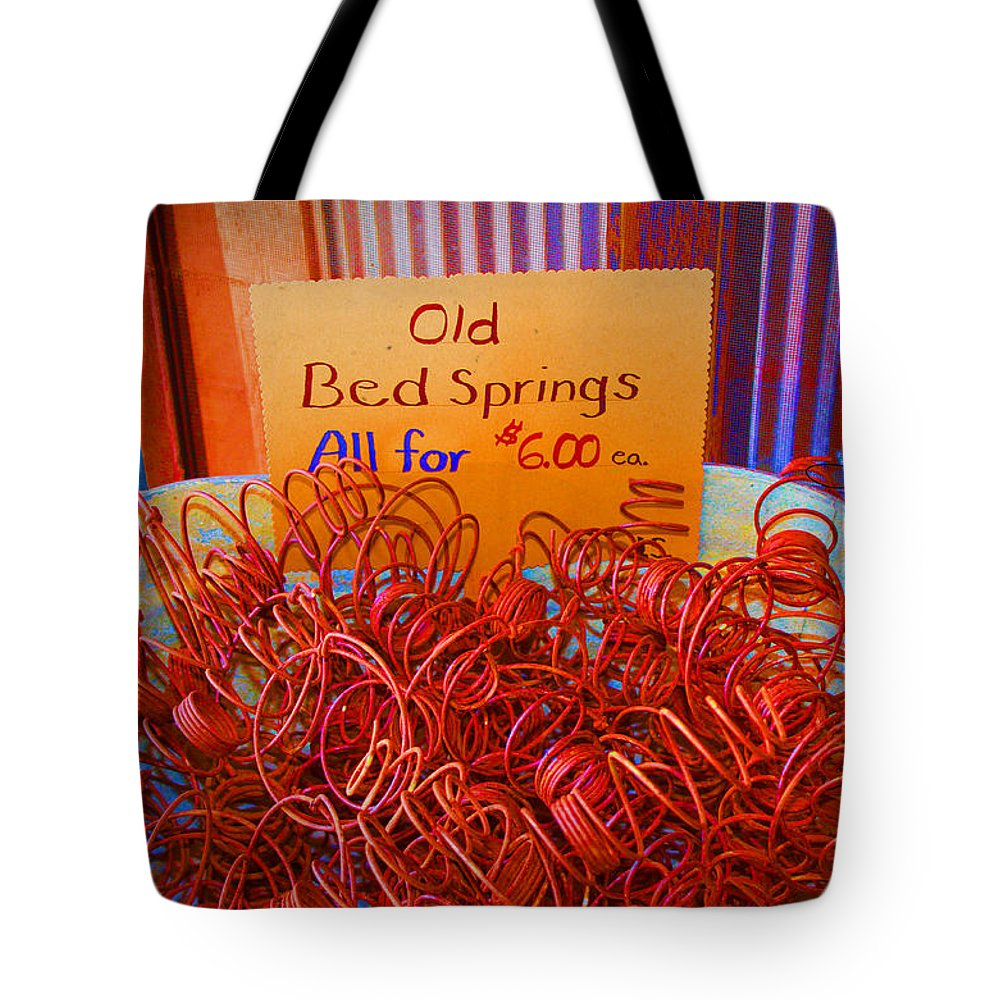 Spring Tote Bag featuring the photograph Hot Springs by Sylvia Thornton