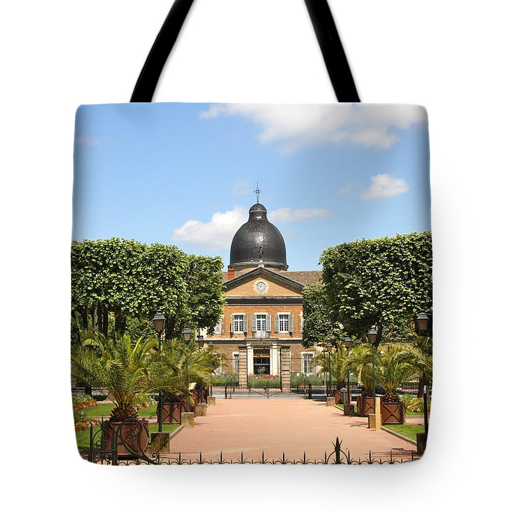 Hospital Tote Bag featuring the photograph Hotel Dieu - Macon by Christiane Schulze Art And Photography