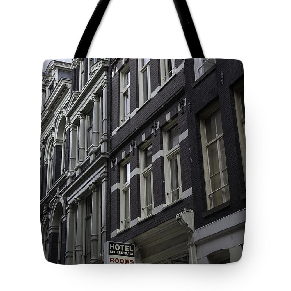 2014 Tote Bag featuring the photograph Hotel Rooms Clean And Simple Amsterdam by Teresa Mucha