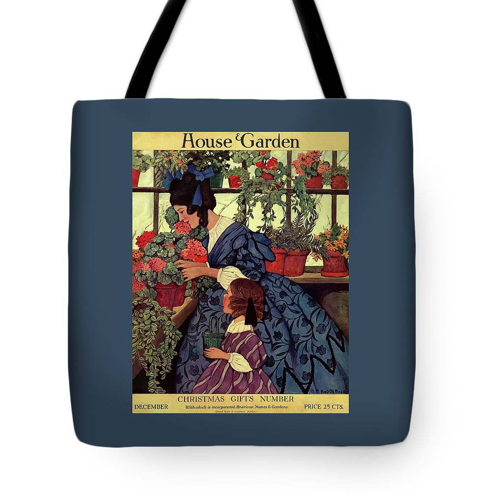 House And Garden Christmas Gift Number Cover Tote Bag for Sale by ...