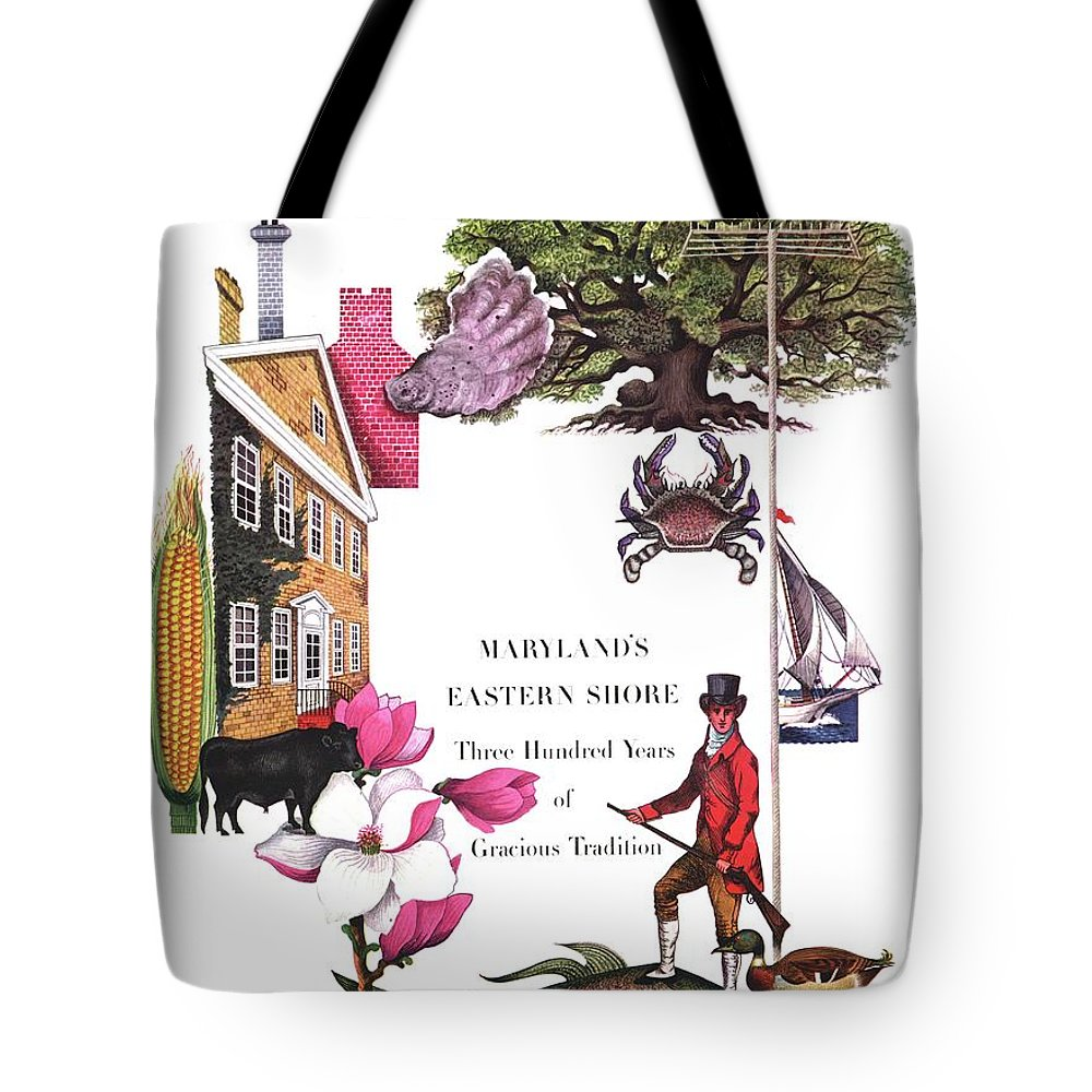 House And Garden Tote Bag featuring the photograph House And Garden Cover by Edna Eicke