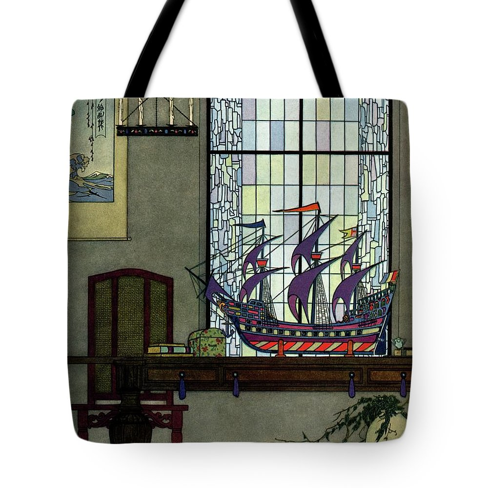 House And Garden Tote Bag featuring the photograph House And Garden by Harry Richardson