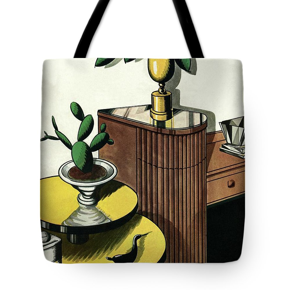 House And Garden Tote Bag featuring the photograph House And Garden Household Equipment Number Cover by Marion Wildman