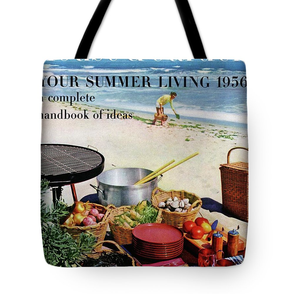 Entertainment Tote Bag featuring the photograph House And Garden Ideas For Summer Issue Cover by Tom Leonard