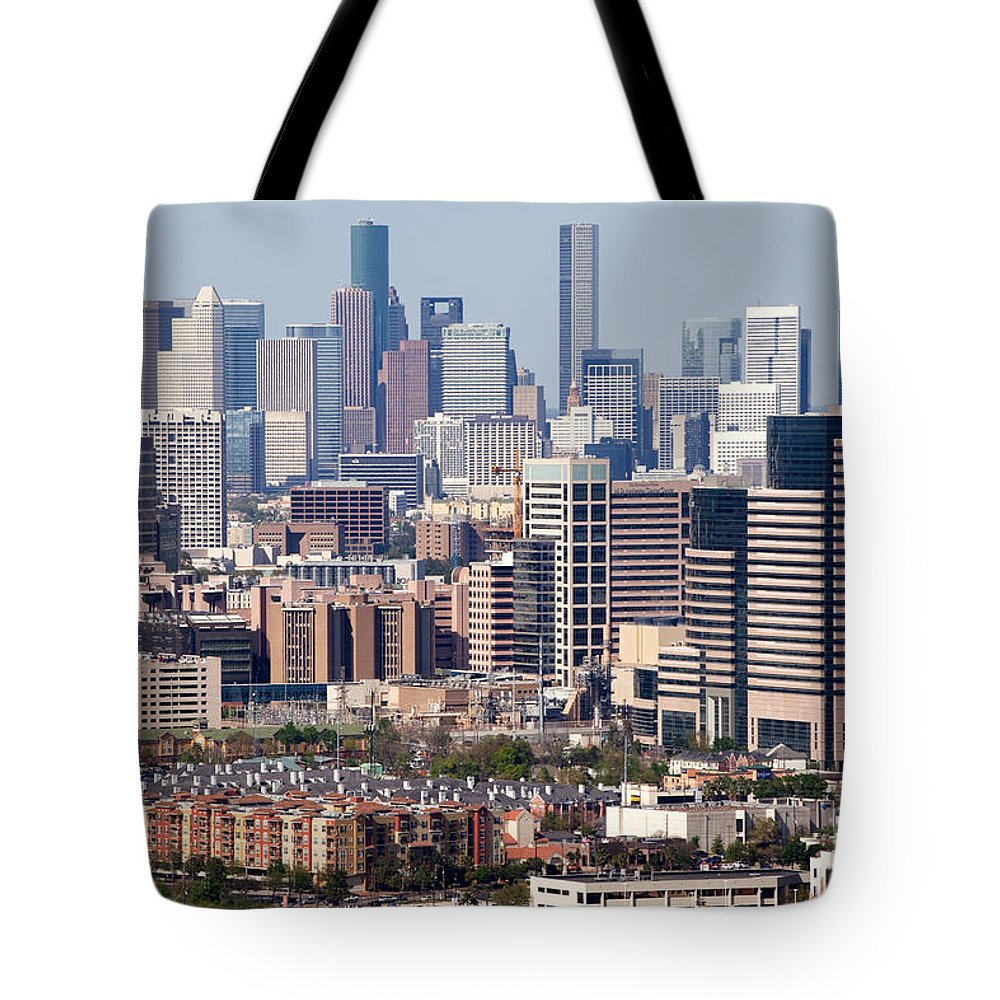 Houston Tote Bag featuring the photograph Houston Texas by Bill Cobb