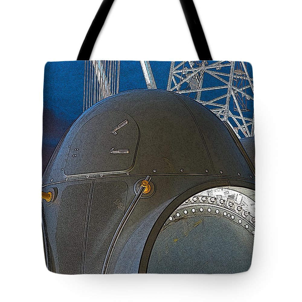 Tote Bag featuring the photograph Hub by WB Johnston