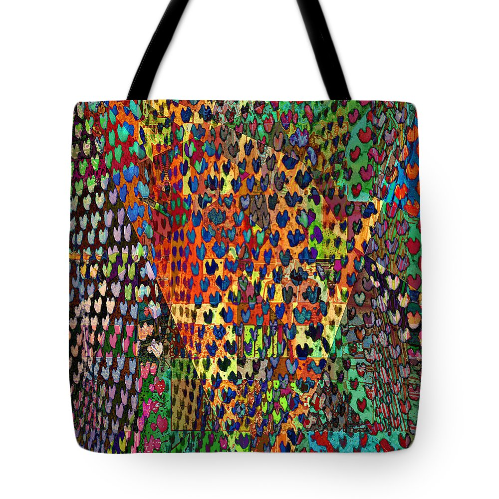 Tote Bag featuring the photograph Hundreds Of Hearts... by David Pantuso