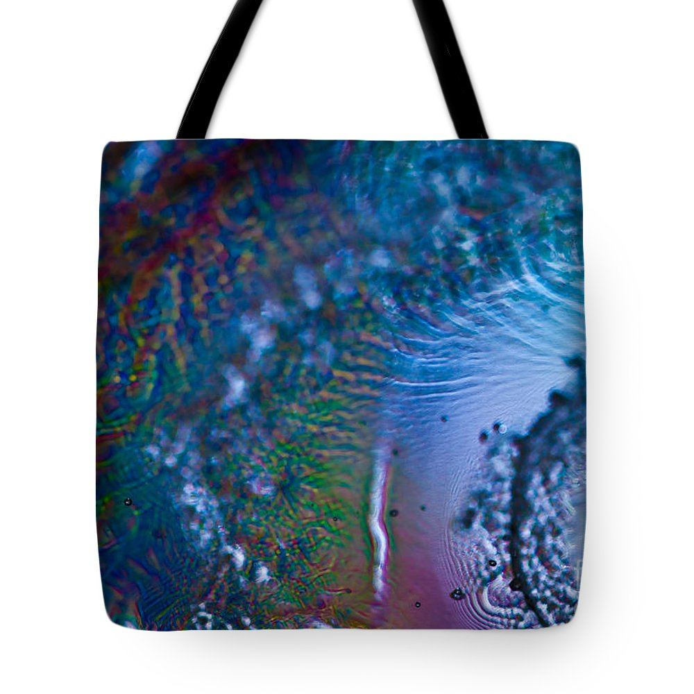 Abstract Tote Bag featuring the photograph Hurricane by Anthony Sacco