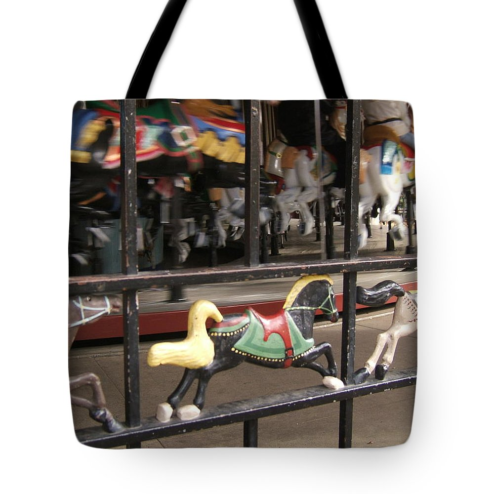 Central Park Tote Bag featuring the photograph Hurry Hurry by Barbara McDevitt