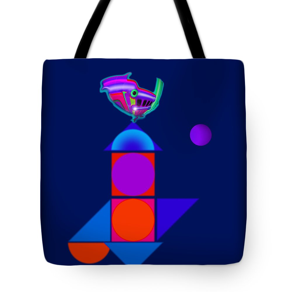 Home Tote Bag featuring the painting Hybrid by Charles Stuart
