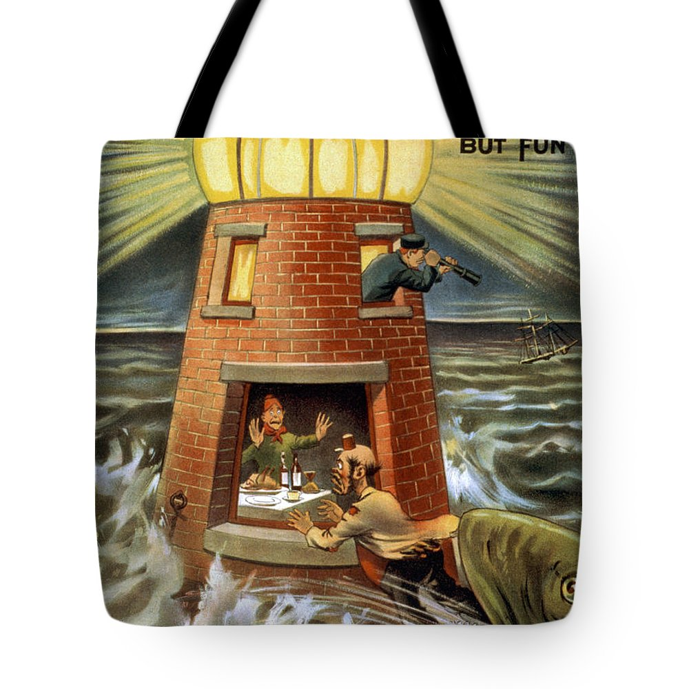Entertainment Tote Bag featuring the drawing I Always Was A Jonah by Aged Pixel