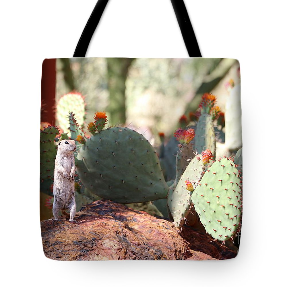 Ground Tote Bag featuring the photograph I Am Here by Christiane Schulze Art And Photography