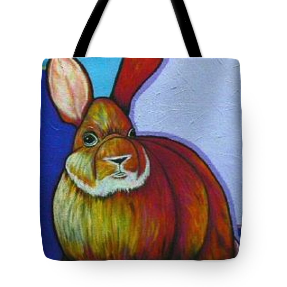 Wildlife Tote Bag featuring the painting I Can Hear You by Joe Triano