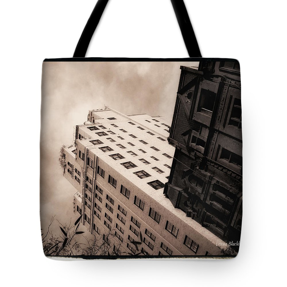 New York Tote Bag featuring the photograph I Have A Crush On You by Donna Blackhall