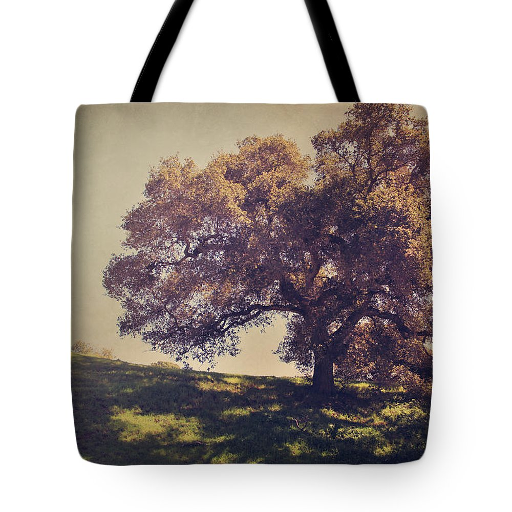 Dry Creek Hills Regional Park Tote Bag featuring the photograph I Wish You Had Meant It by Laurie Search