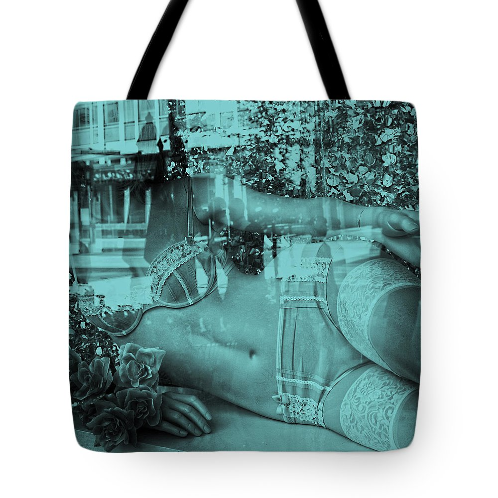 Street Photography Tote Bag featuring the photograph Ice Cold by The Artist Project