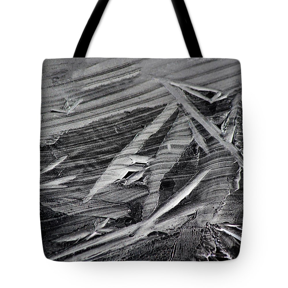 Ice Tote Bag featuring the photograph Ice Formations by Shane Bechler