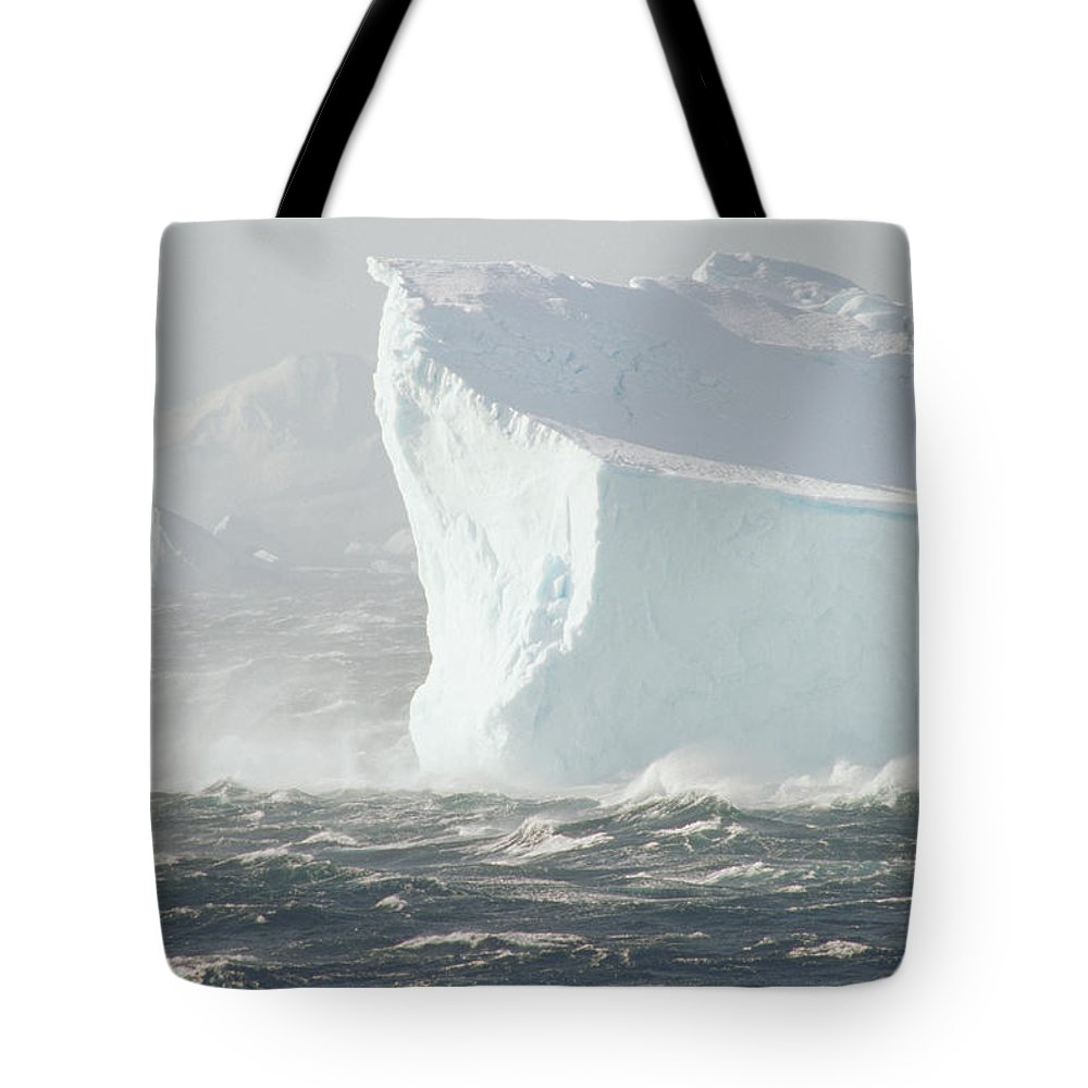 Antarctica Tote Bag featuring the photograph Iceberg In Bransfield Strait by Gerry Ellis