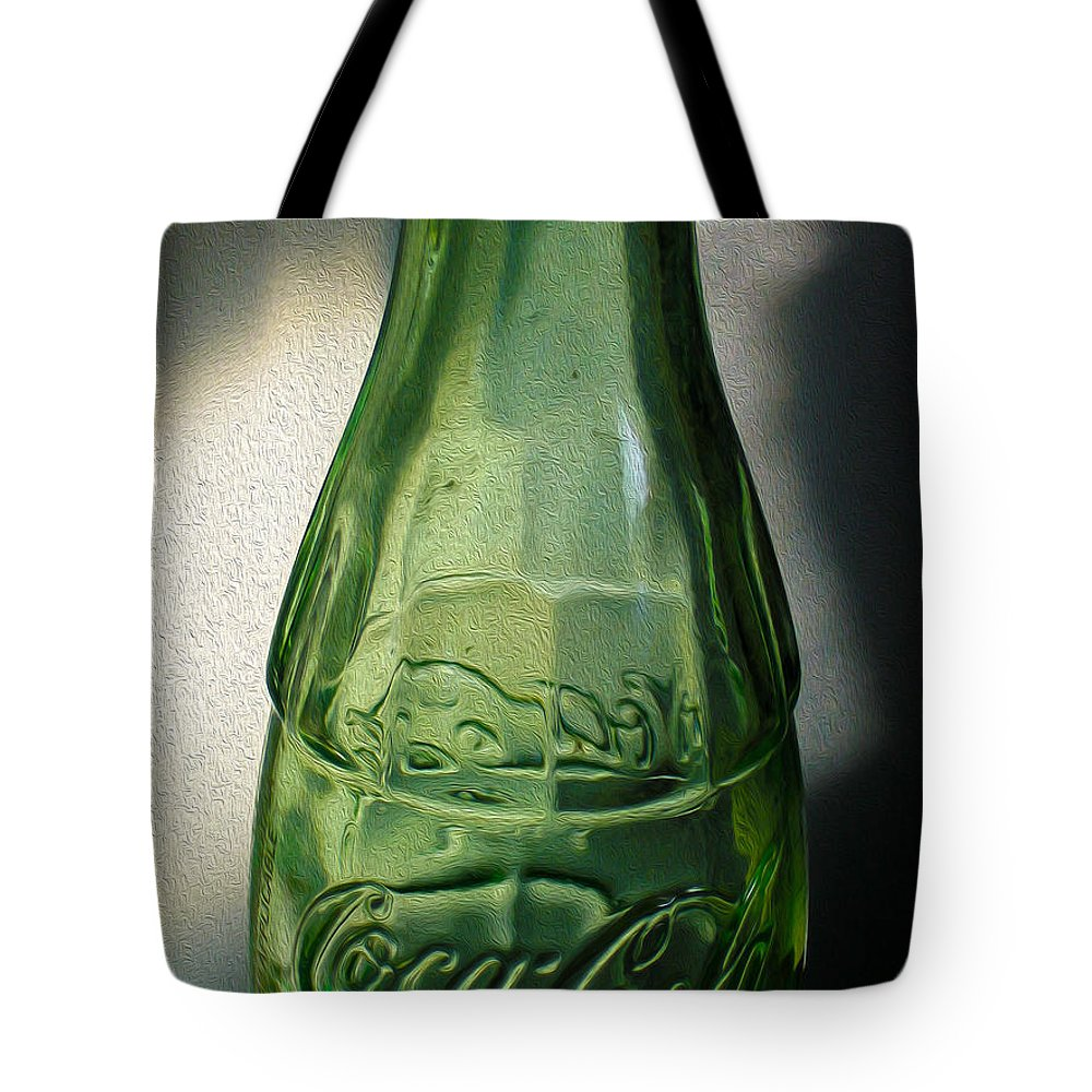 Coke Tote Bag featuring the photograph Iconic Glassware by Nina Silver