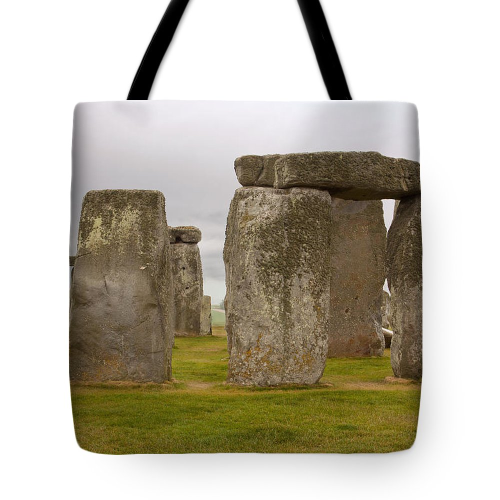 England Tote Bag featuring the photograph Icons Of Time In The Rain by Denise Dube