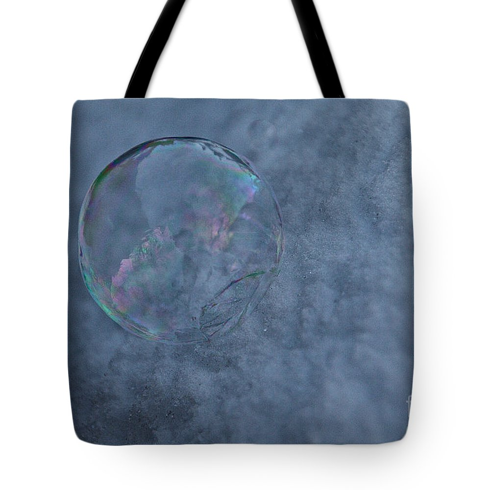 Outdoors Tote Bag featuring the photograph Icy Air by Susan Herber