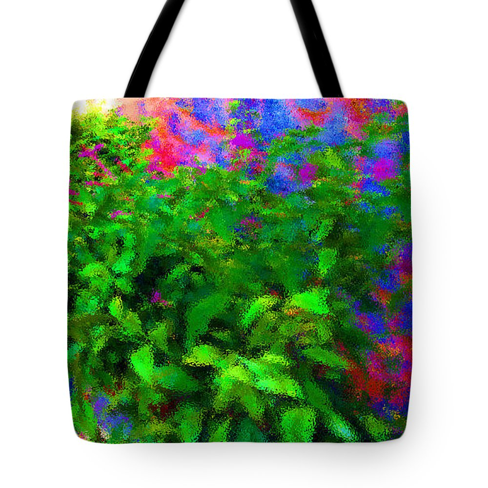 Flower Tote Bag featuring the photograph Idealism by Tina M Wenger