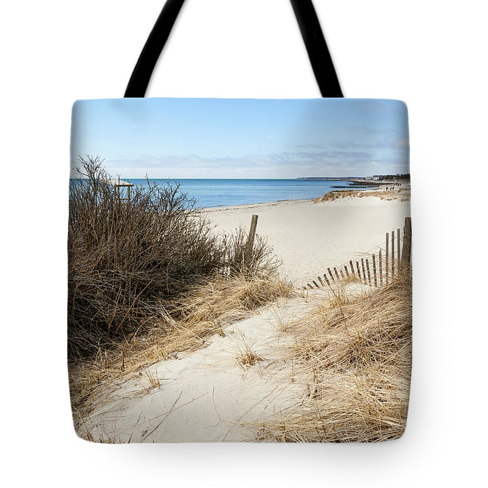 Idyllic Morning Walk Tote Bag featuring the photograph Idyllic Morning Walk by Michelle Constantine