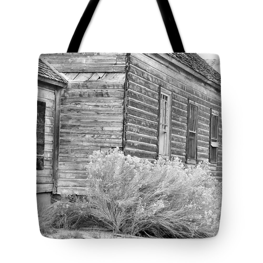 Canvas Prints Tote Bag featuring the photograph If Walls Could Talk by Wendy Elliott