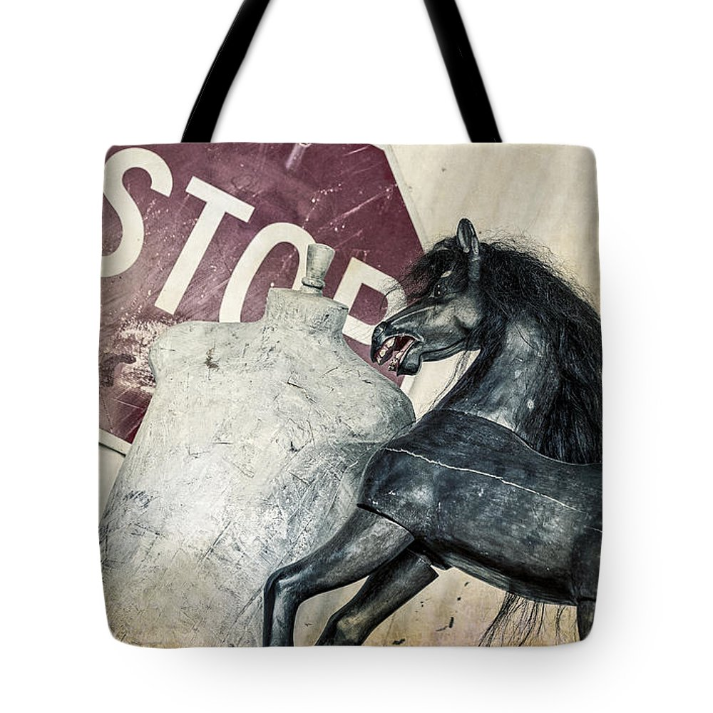 Stop Sign Tote Bag featuring the photograph If What? by Caitlyn Grasso