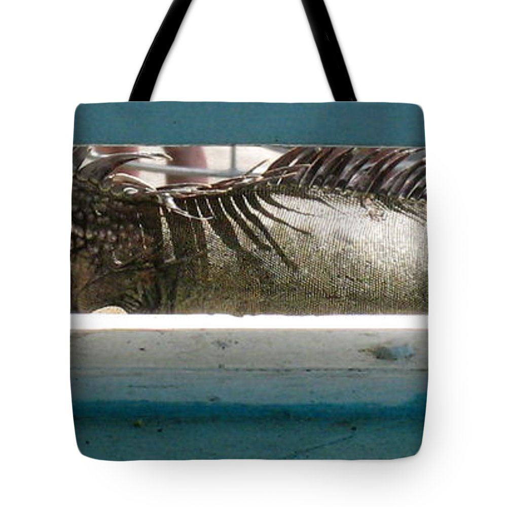 Animal Photographs Tote Bag featuring the photograph Iggy by Jennifer E Doll