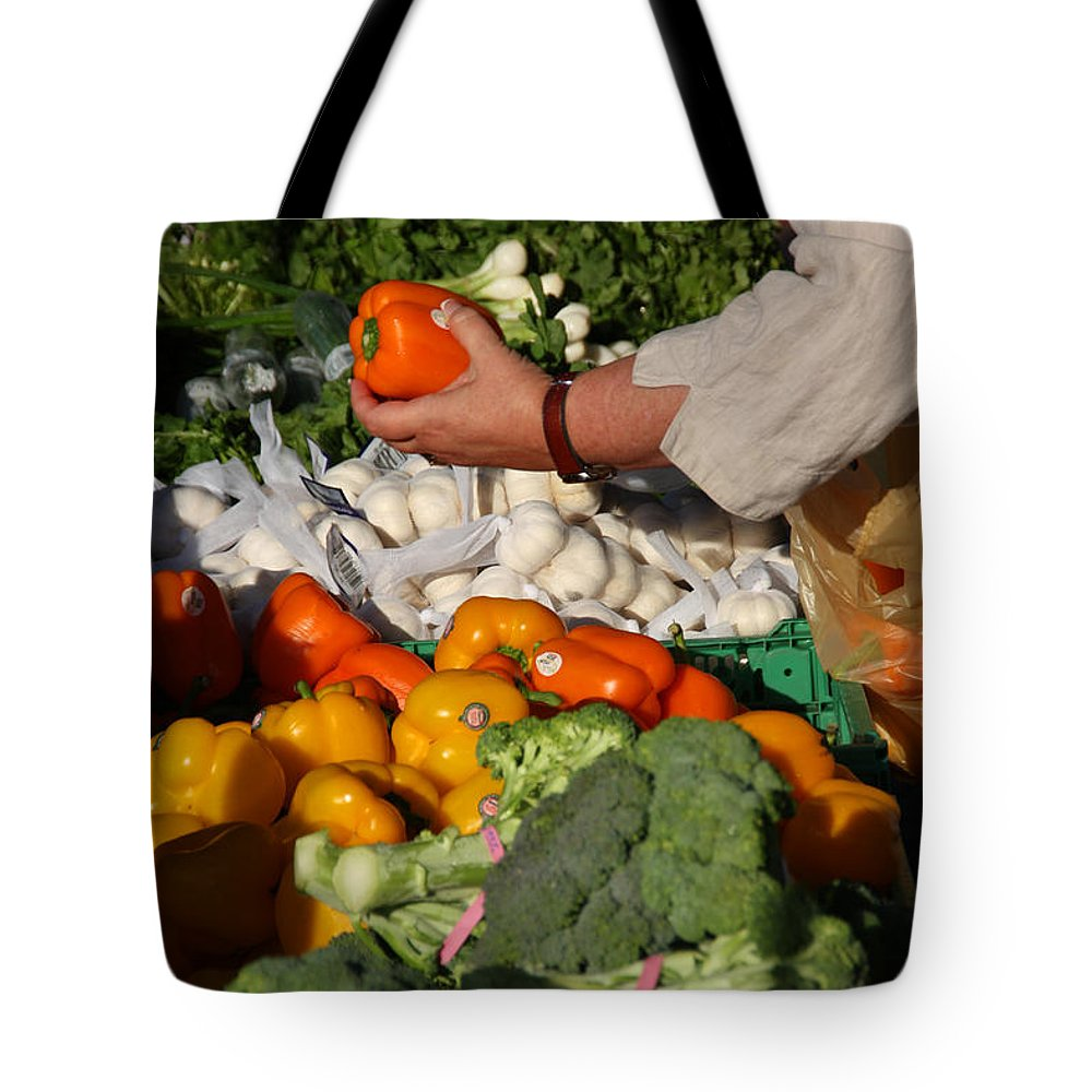 Food Tote Bag featuring the photograph I'll Take This One by Joseph Schofield