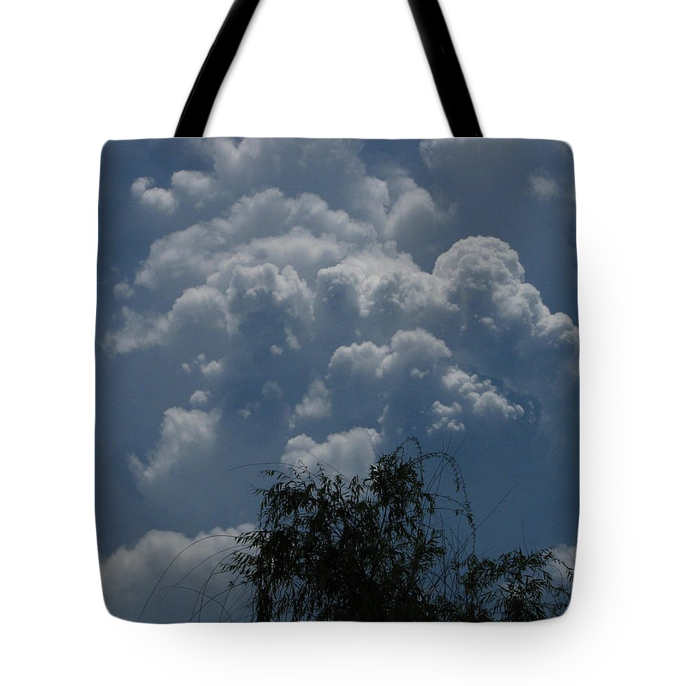 Patzer Tote Bag featuring the photograph I'm Thinking Rain by Greg Patzer