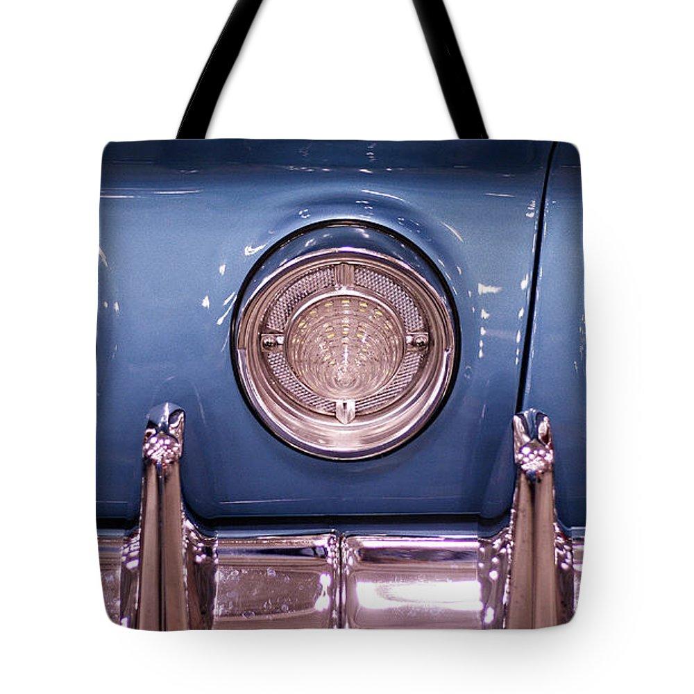 Impala Tote Bag featuring the photograph Impala Tail Lights by Kristia Adams
