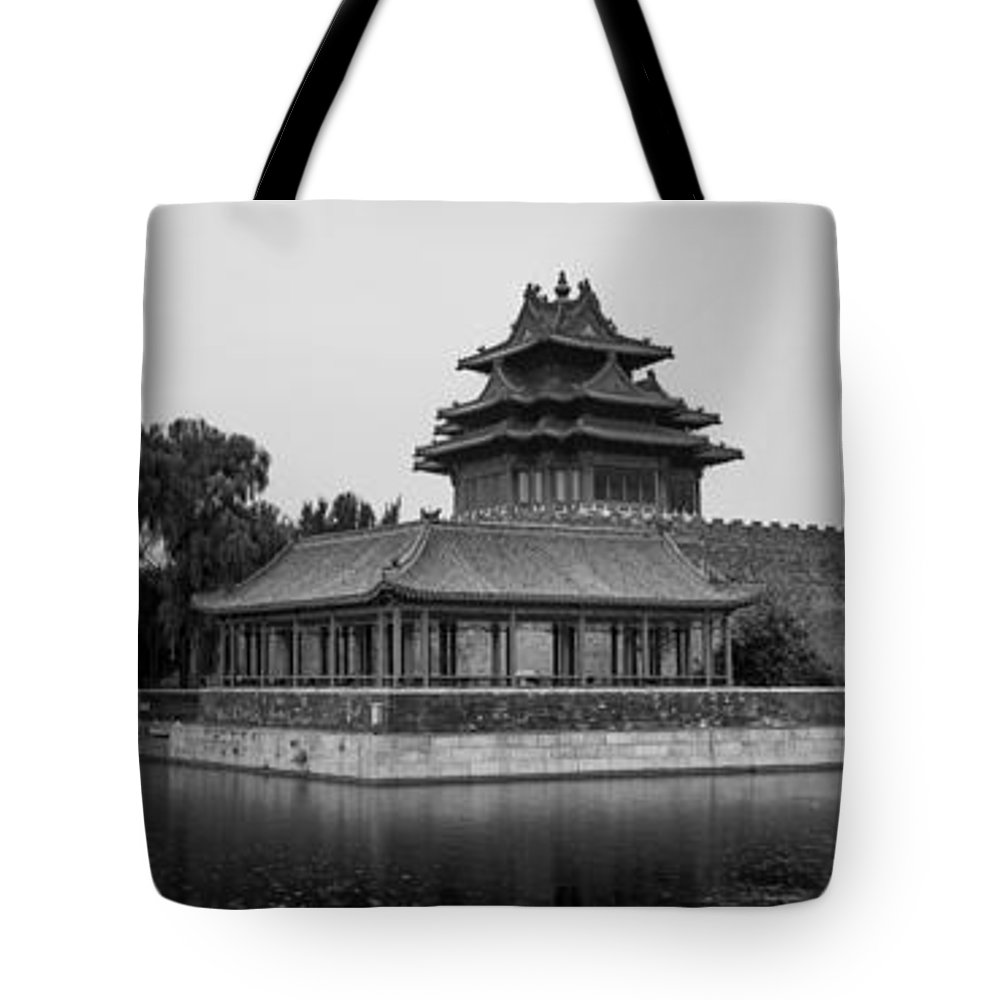 Mirror Tote Bag featuring the photograph Imperial Reflections by Andrew Matwijec
