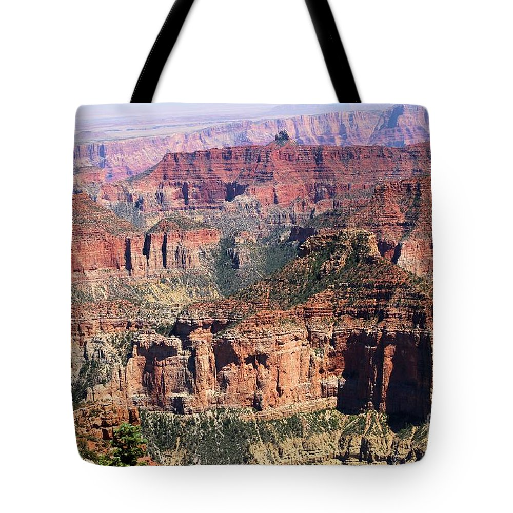 Point Imperial Tote Bag featuring the photograph Imperial Towers by Adam Jewell