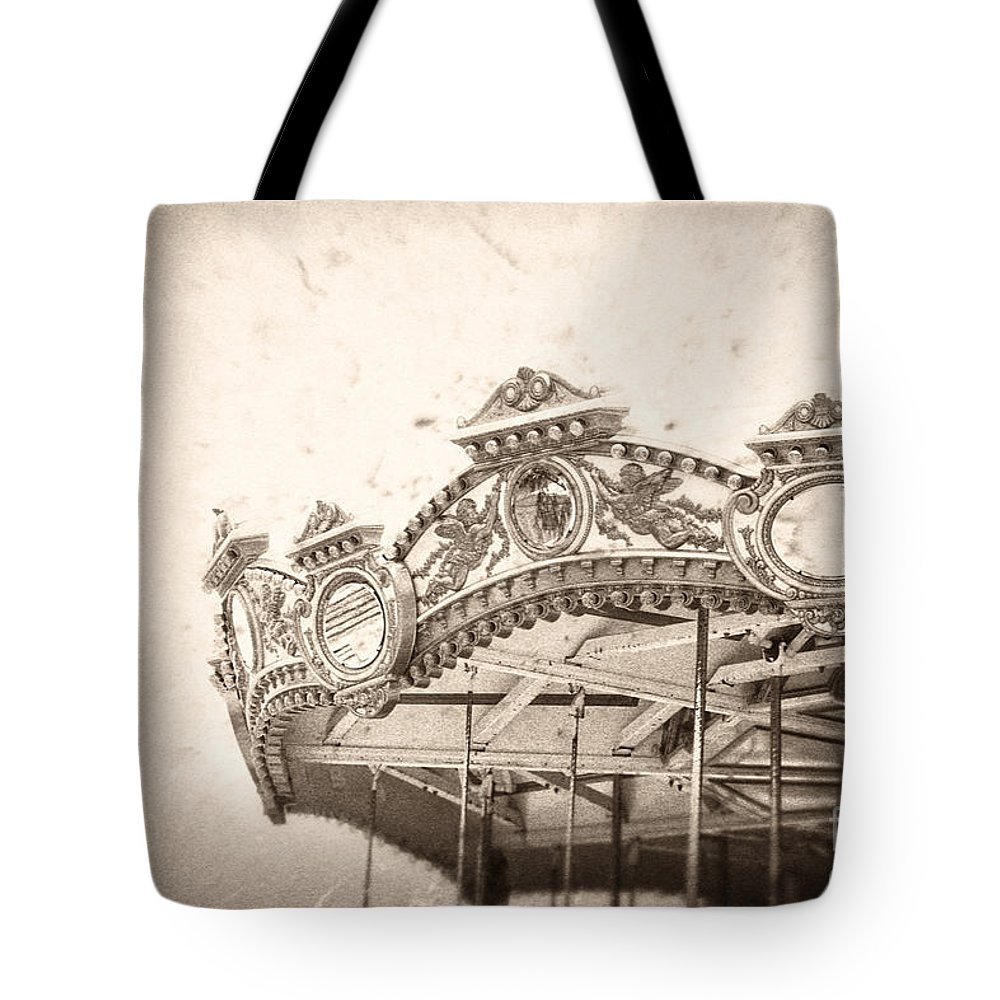 Boardwalk Tote Bag featuring the photograph Impossible Dream by Trish Mistric
