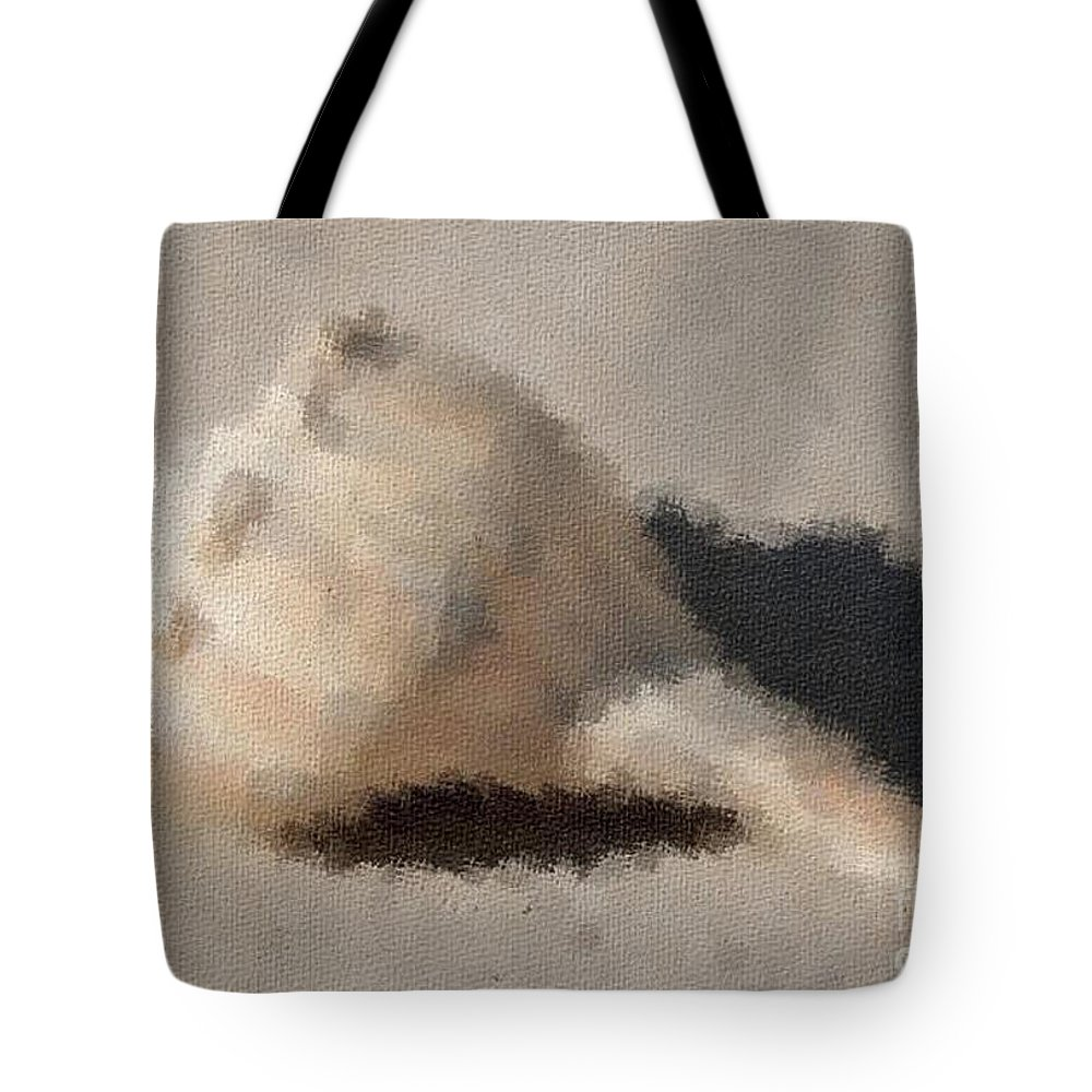 Shell Tote Bag featuring the photograph Impression 6 by Michael Anthony