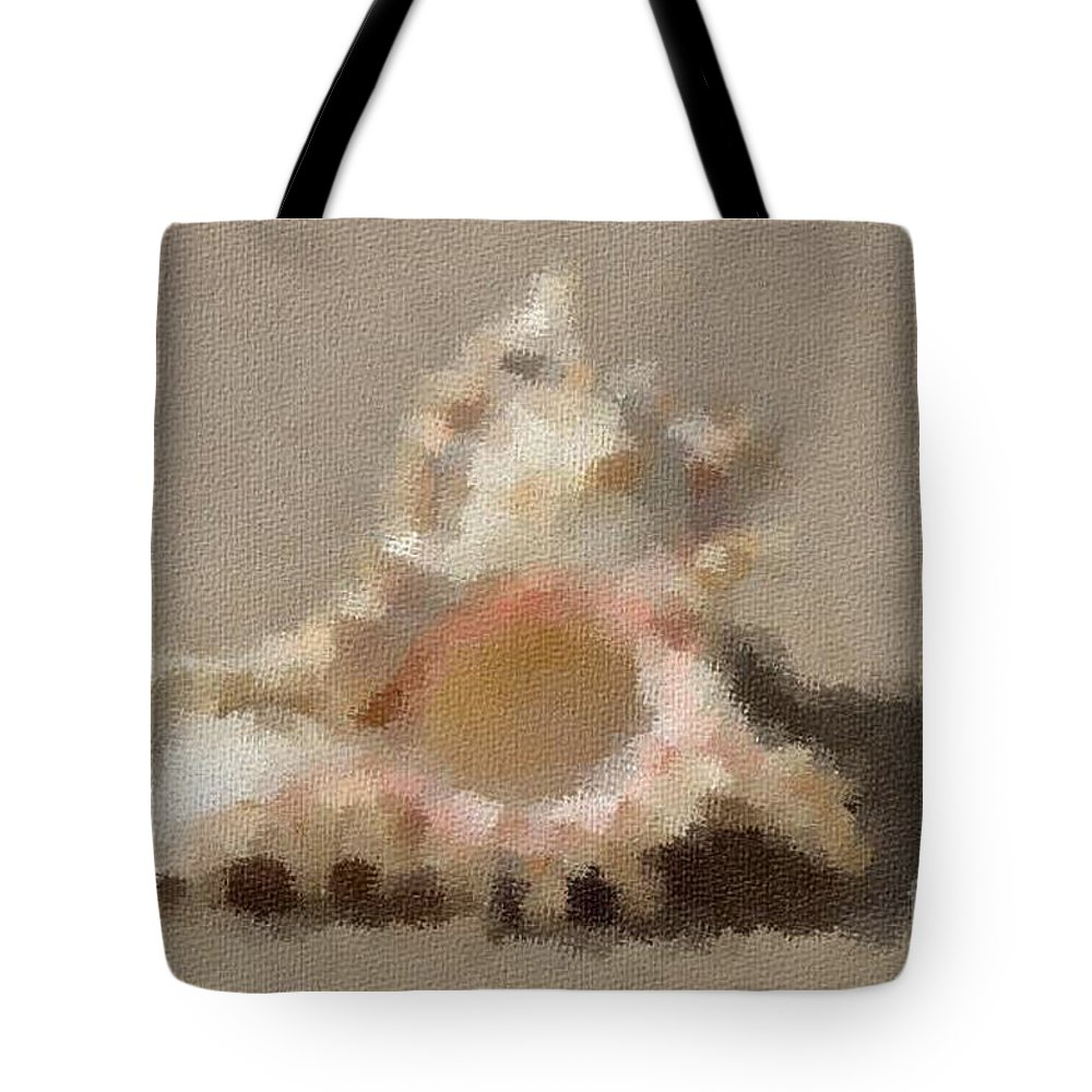 Sandollars Tote Bag featuring the photograph Impression 7 by Michael Anthony
