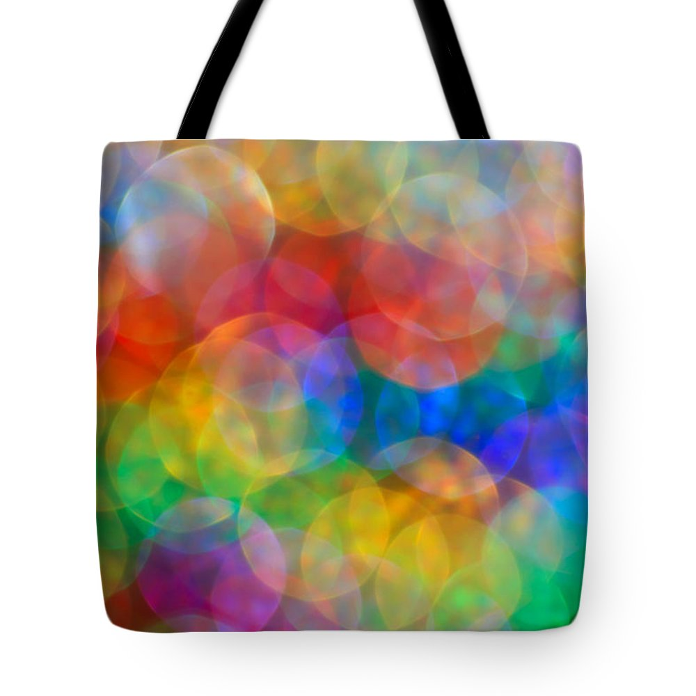 Abstract Tote Bag featuring the photograph In A Daydream by Dazzle Zazz