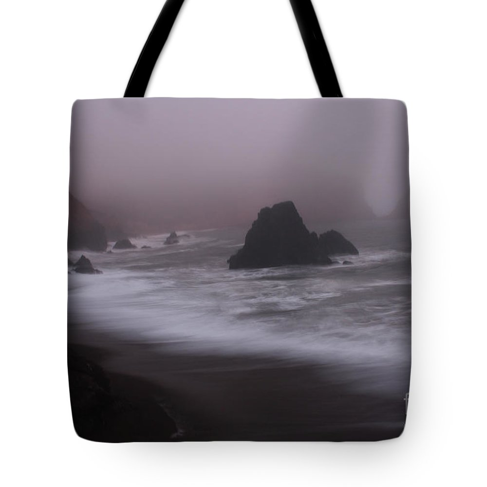 Fog Tote Bag featuring the photograph In A Fog by Suzanne Luft