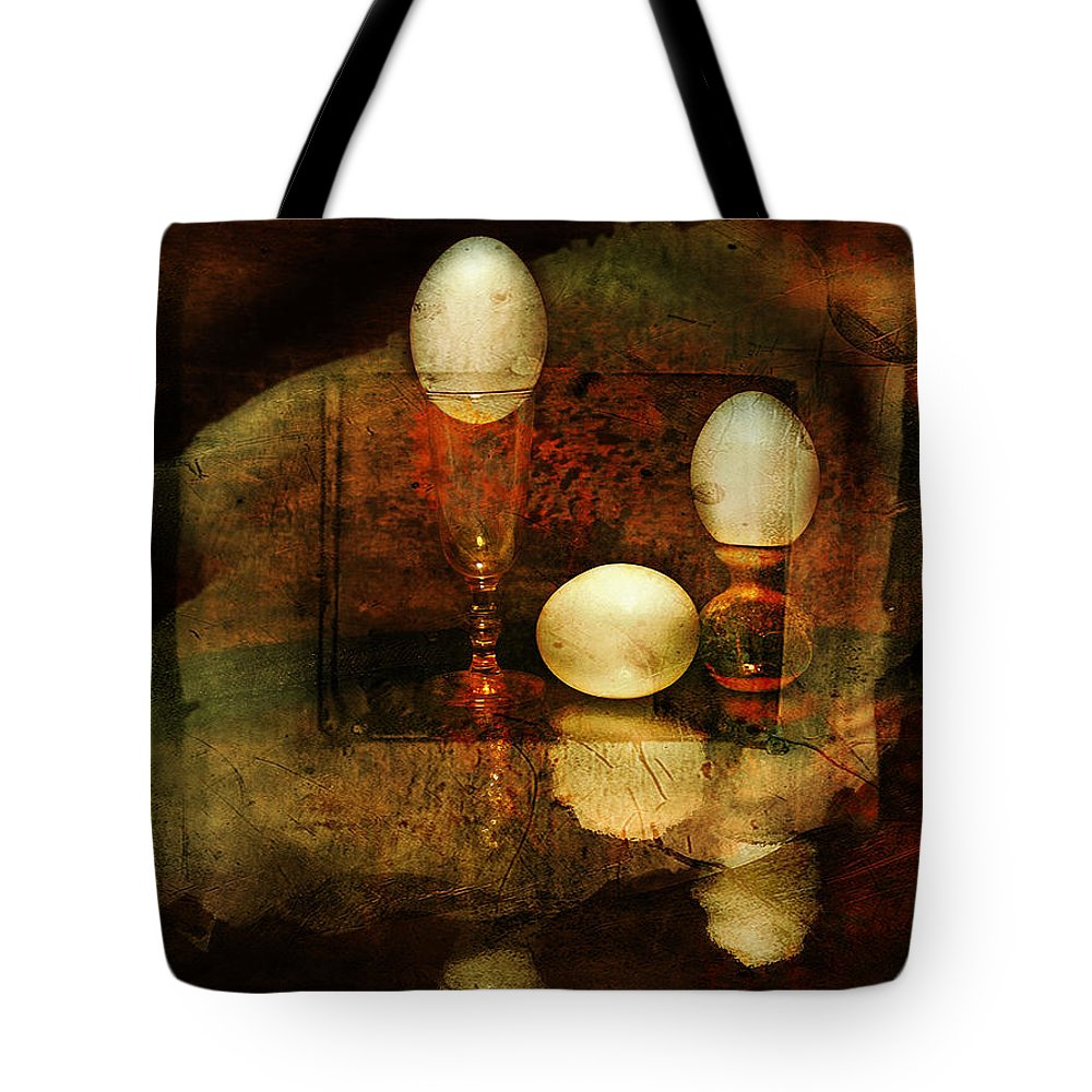 Eggs Tote Bag featuring the photograph In Balance by John Anderson