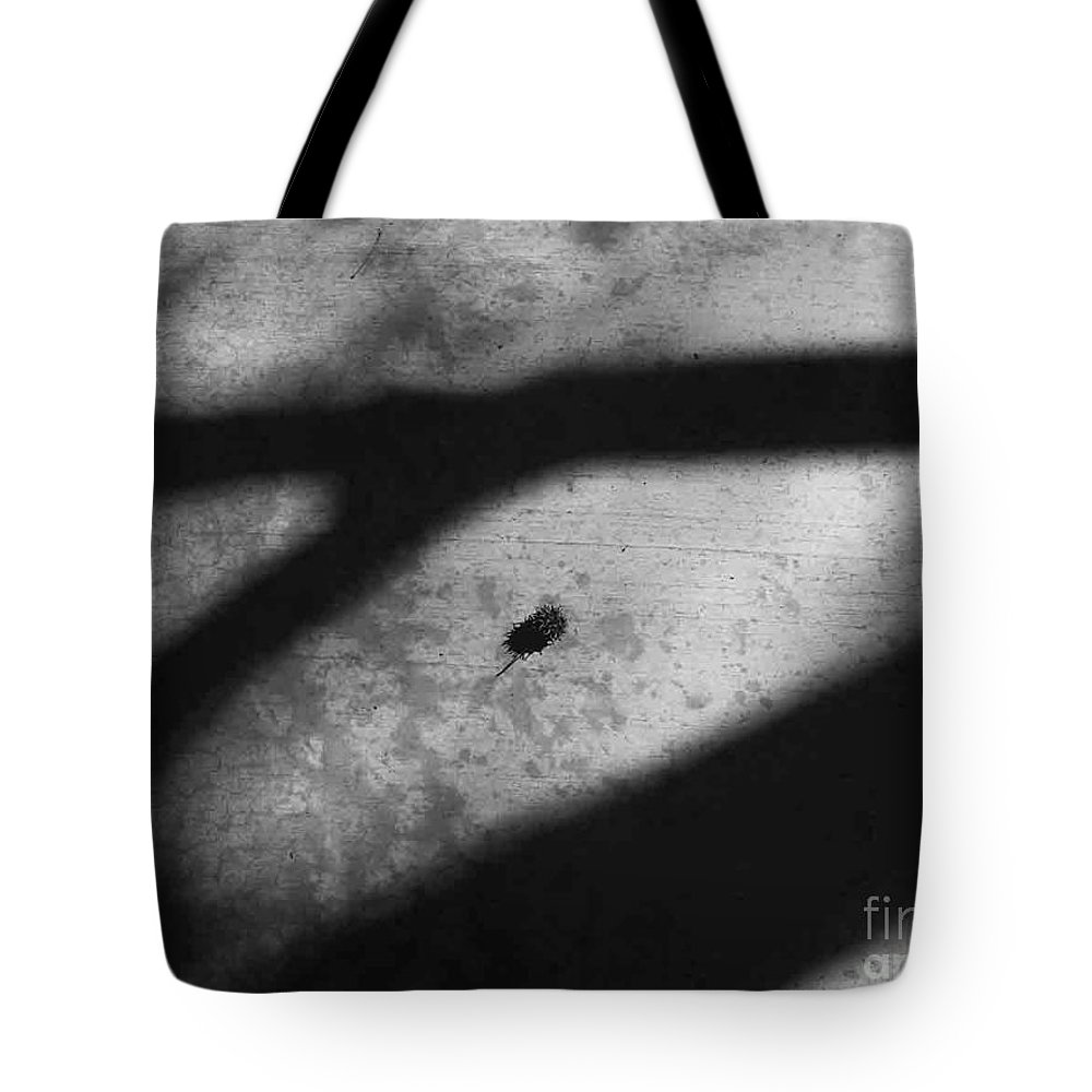 Abstract Tote Bag featuring the photograph In Between by Fei A