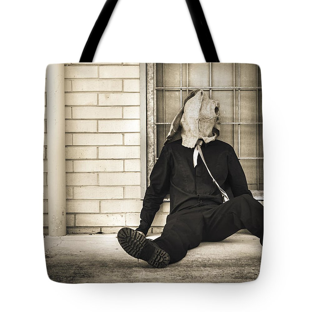 Mask Tote Bag featuring the photograph In Bliss Of Ignorance by Jorgo Photography - Wall Art Gallery
