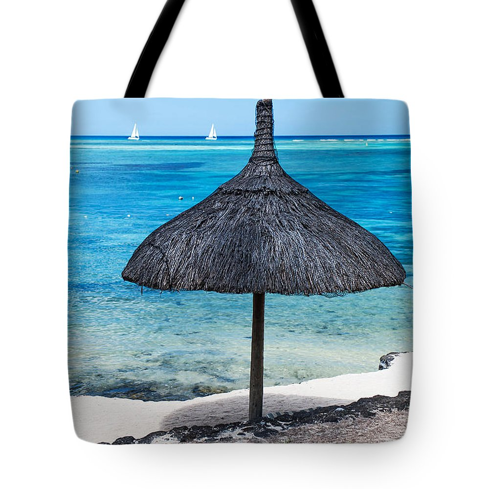 Tropic Tote Bag featuring the photograph In Perfect Balance. Beach Life by Jenny Rainbow