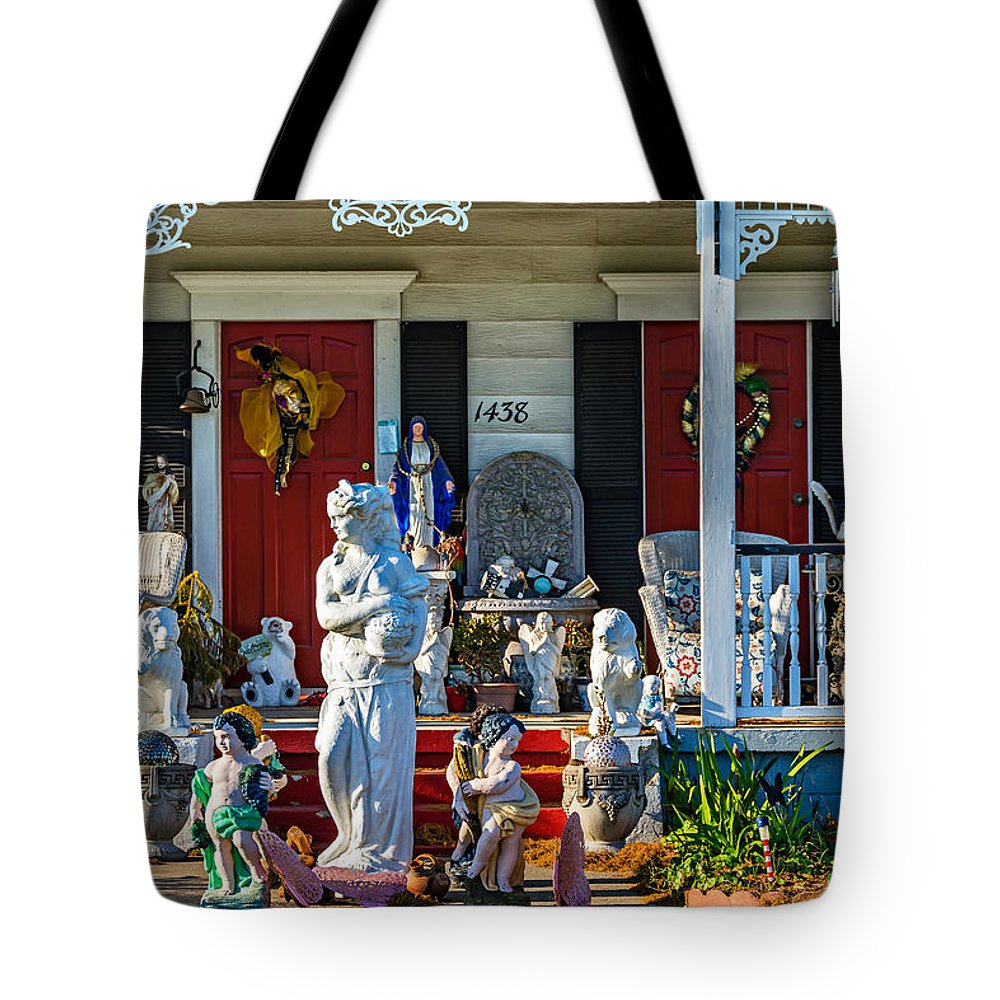 River Road Tote Bag featuring the photograph In Praise Of Everything by Steve Harrington