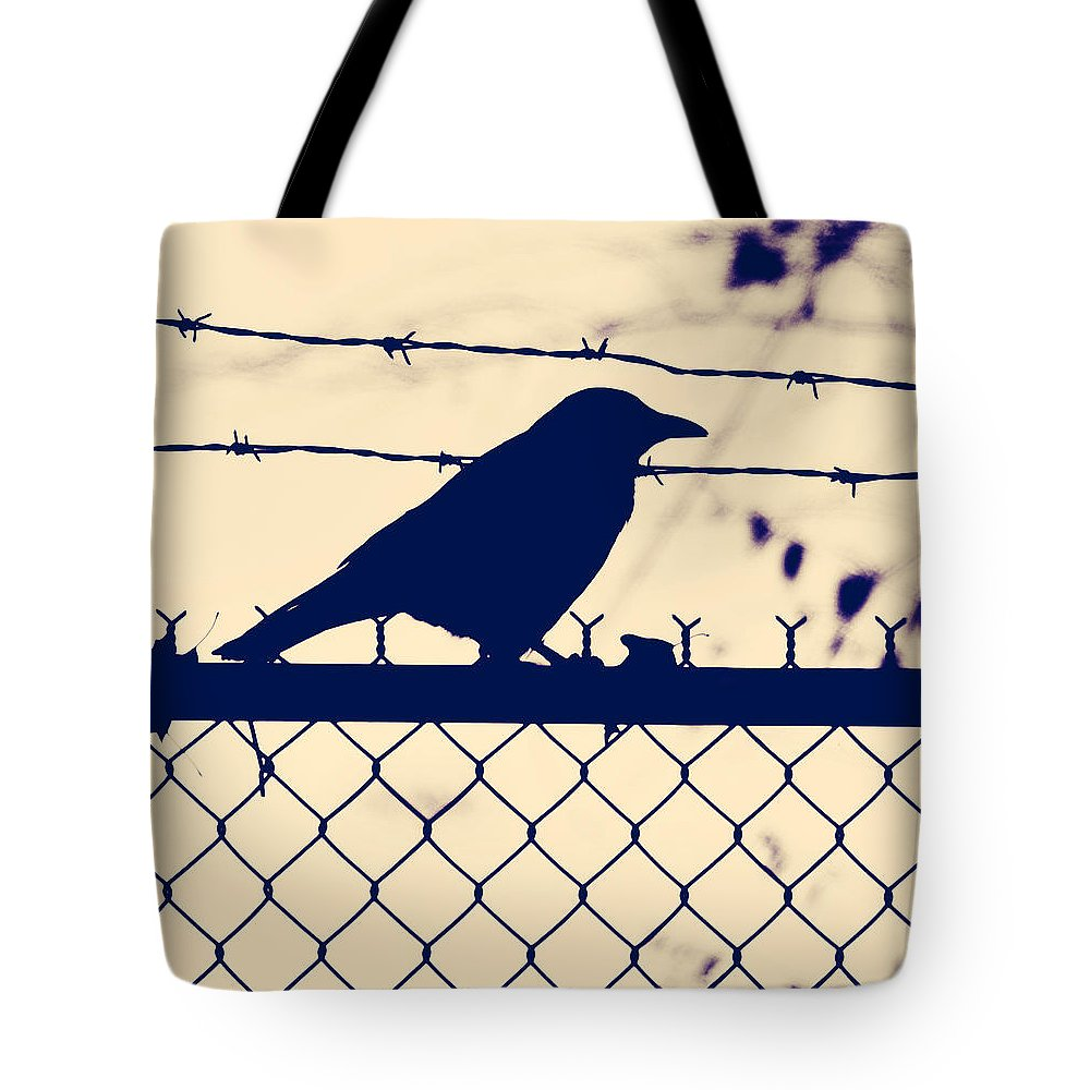Bird Tote Bag featuring the photograph In Search For Worm by The Artist Project